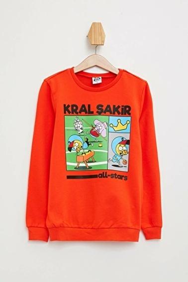 DeFacto Kral Şakir Lisanslı Sweatshirt Kırmızı